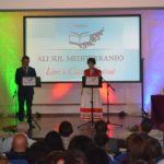 gli organizzatori Nico Serratore e Cristina Medaglia