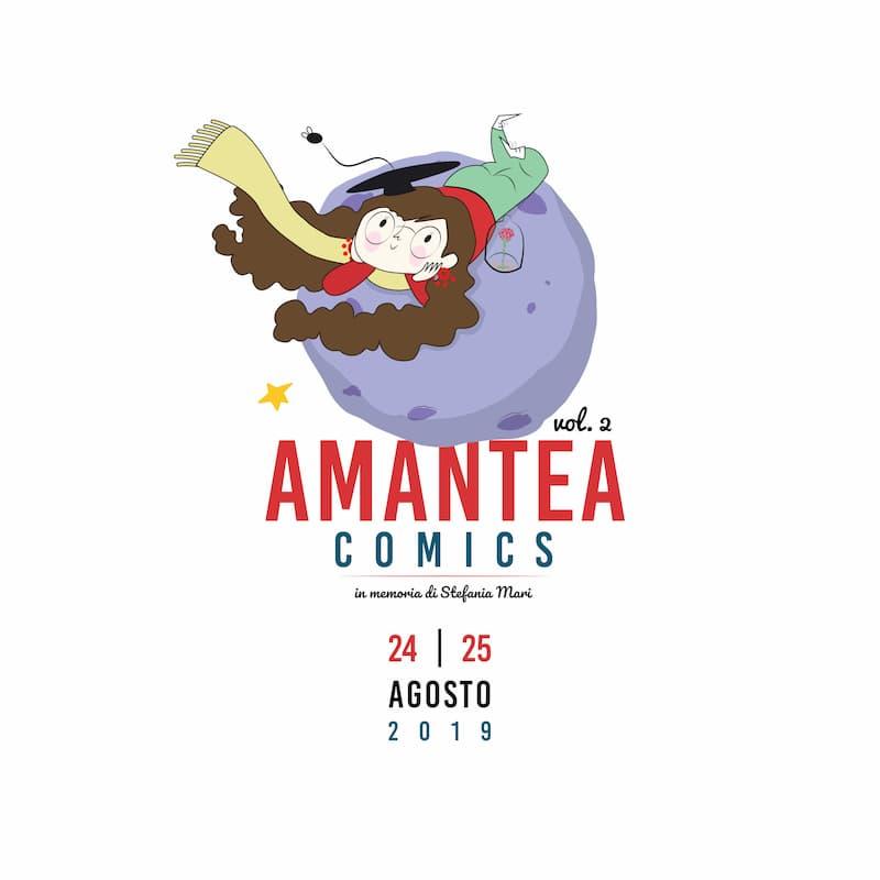 Amantea Comics 24 e 25 Agosto 2019 locandina
