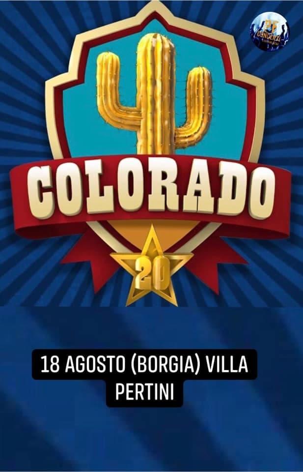 Colorado 18 Agosto 2019 a Borgia