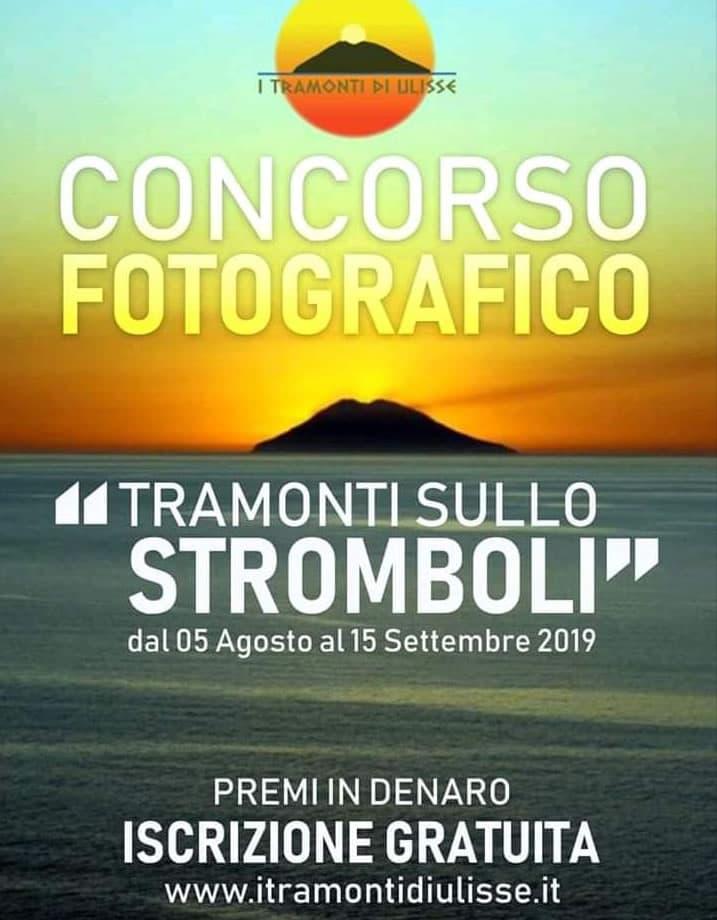 Concorso fotografico I Tramonti di Ulisse dal 5 Agosto al 15 Settembre 2019 locandina
