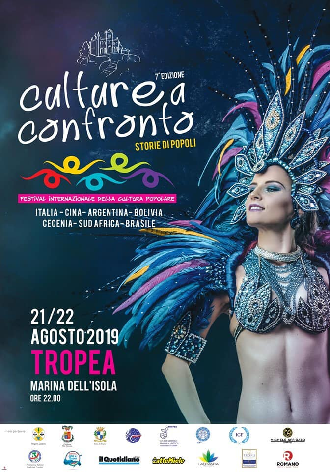 Culture a Confronto 21 22 Agosto 2019 a Tropea locandina