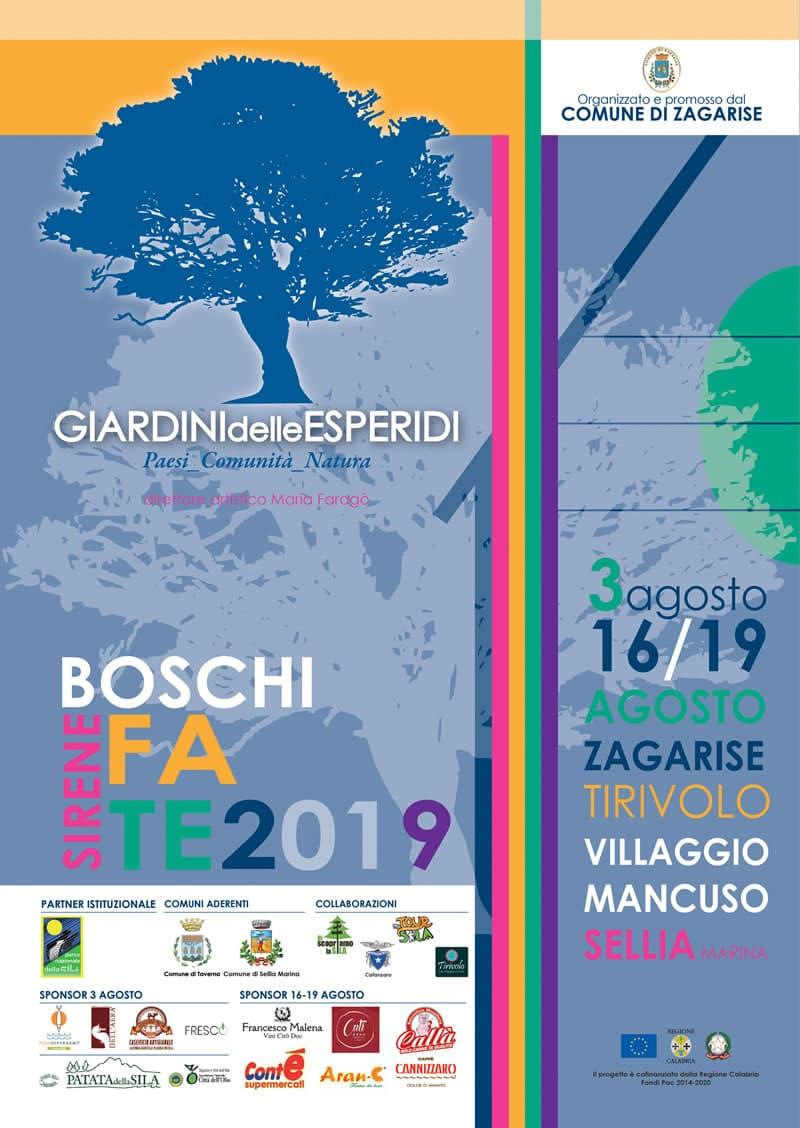 Giardini delle Esperidi Festival 2019