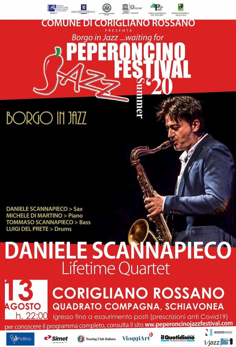 Il Peperoncino Jazz Festival, giovedì 13 agosto 2020 tappa al Quadrato Schiavonea