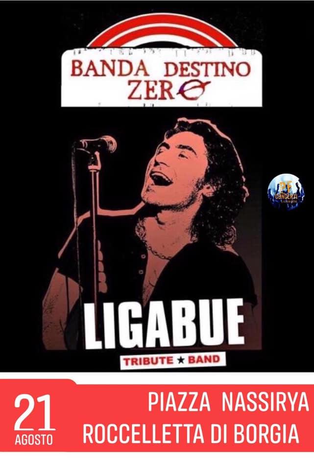Ligabue Tribute Band 21 Agosto 2019 a Roccelletta di Borgia