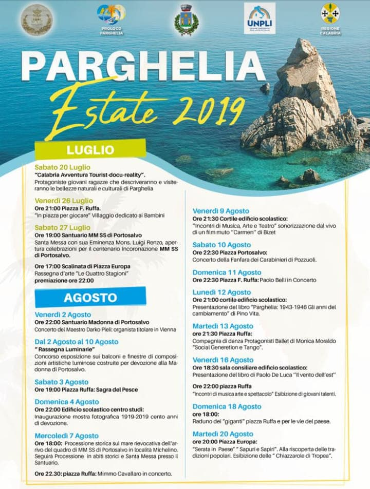 Parghelia Estate 2019