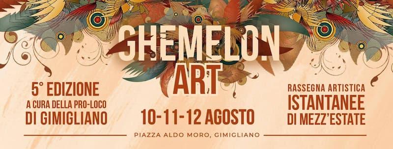 Ghemelon Art V edizione 10 11 12 Agosto 2019 a Gimigliano
