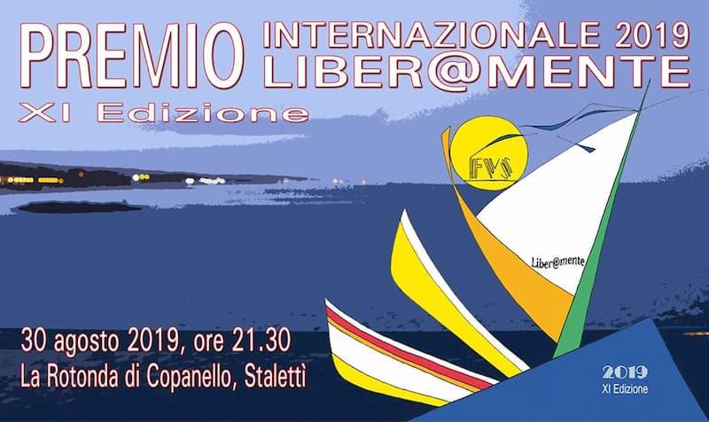 Premio Internazionale Liber@mente 30 agosto 2019 - XI Edizione a Copanello di Stalettì locandina
