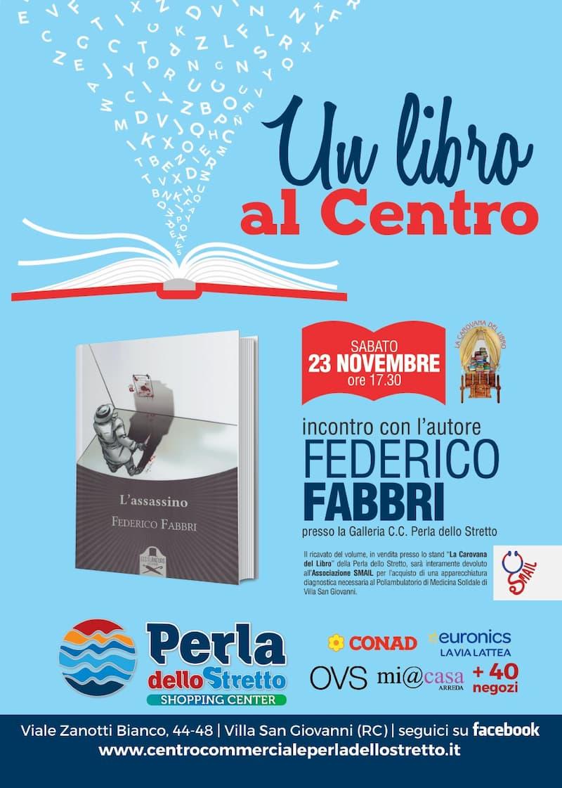 Un libro al Centro 23 Novembre 2019 Villa San Giovanni locandina