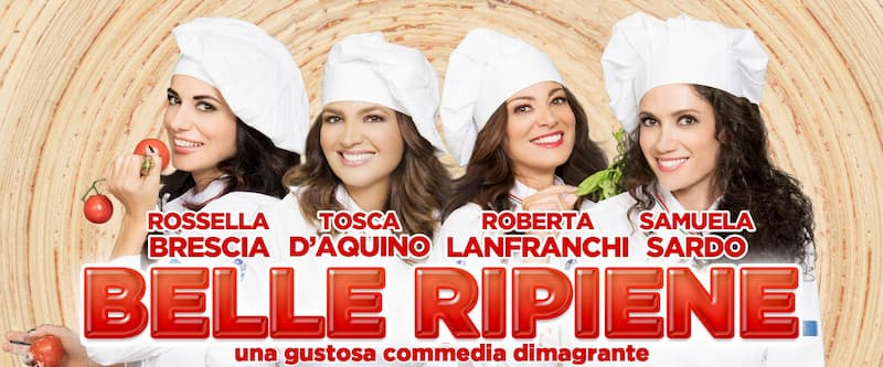 Belle ripiene con Rossella Brescia - Tosca D'Aquino - Roberta Lanfranchi - Samuela Sardo
