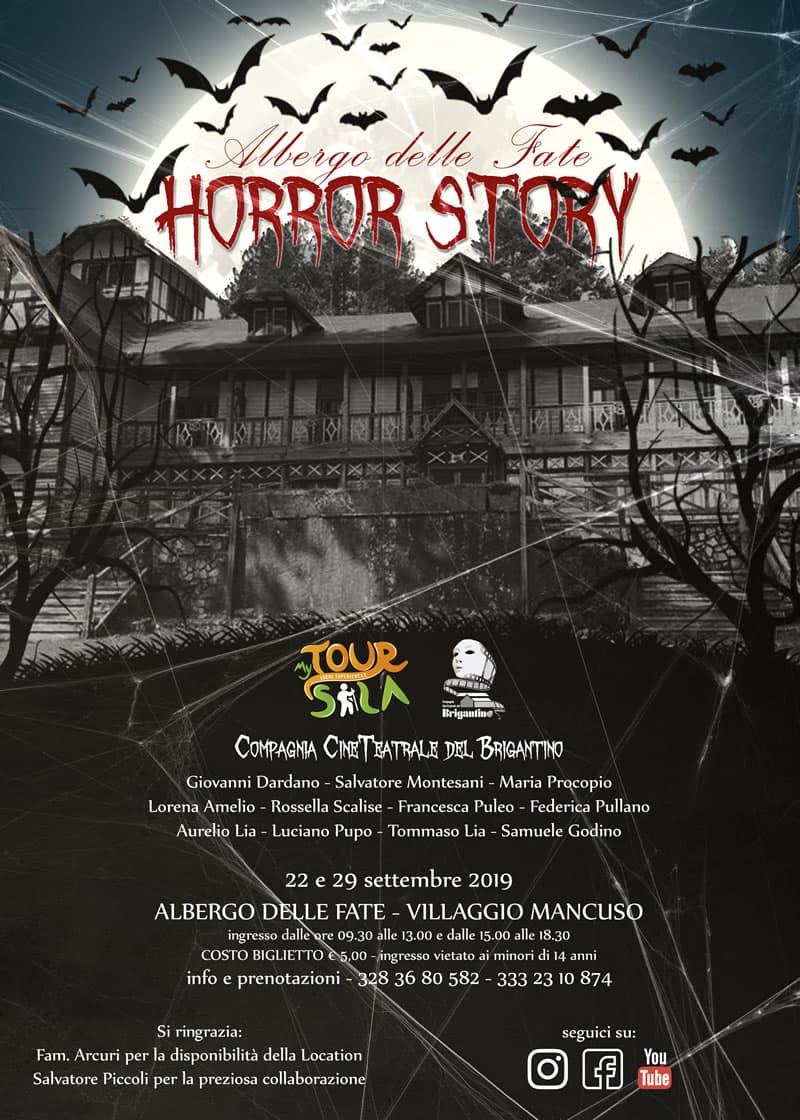 Dal 22 e 29 settembre Villaggio Mancuso (Taverna) Calabria Horror Story locandina