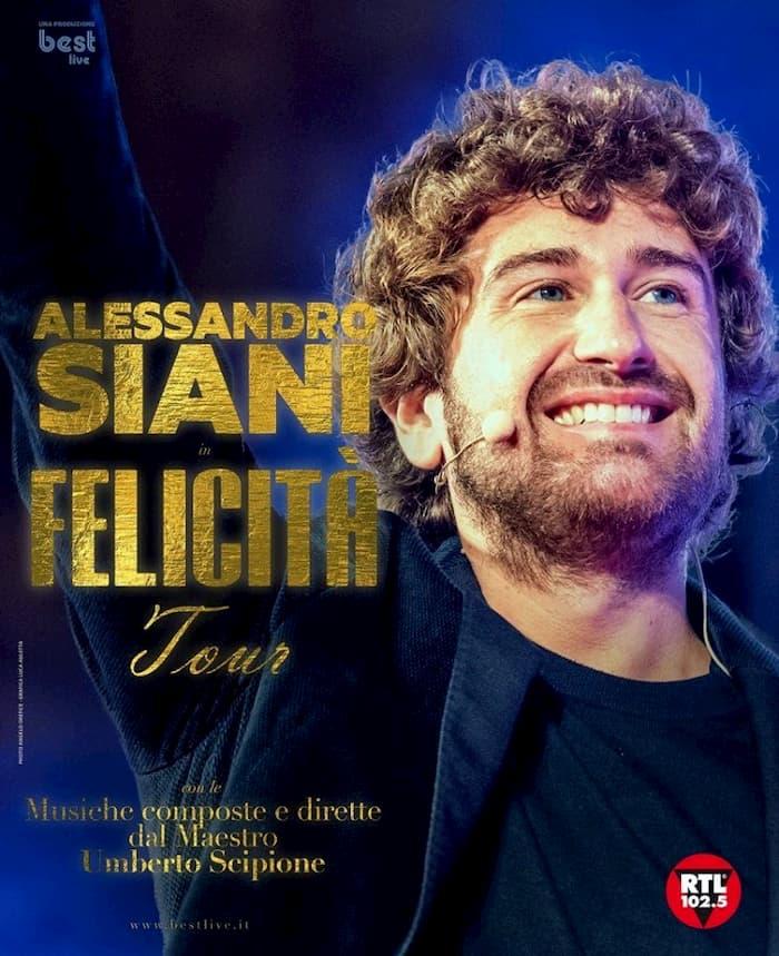Felicità Tour con Alessandro Siani