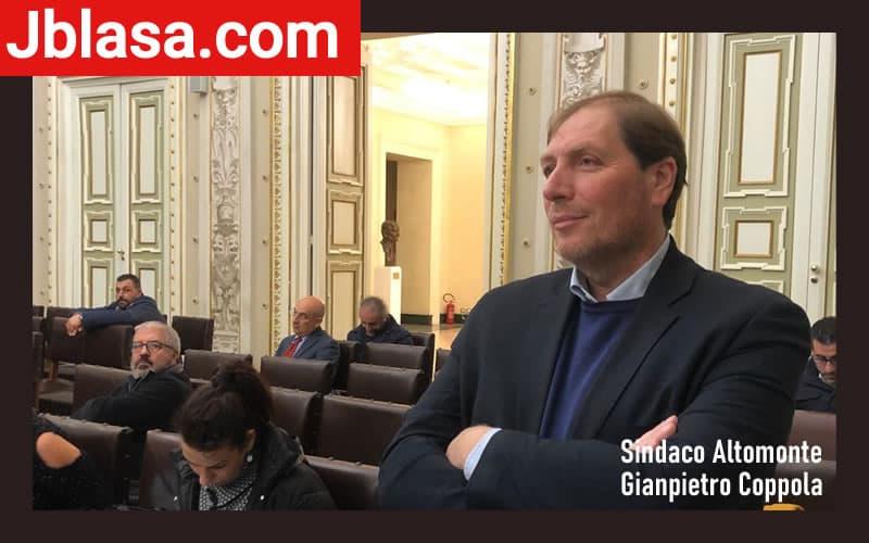 Sindaco Altomonte Gianpietro Coppola