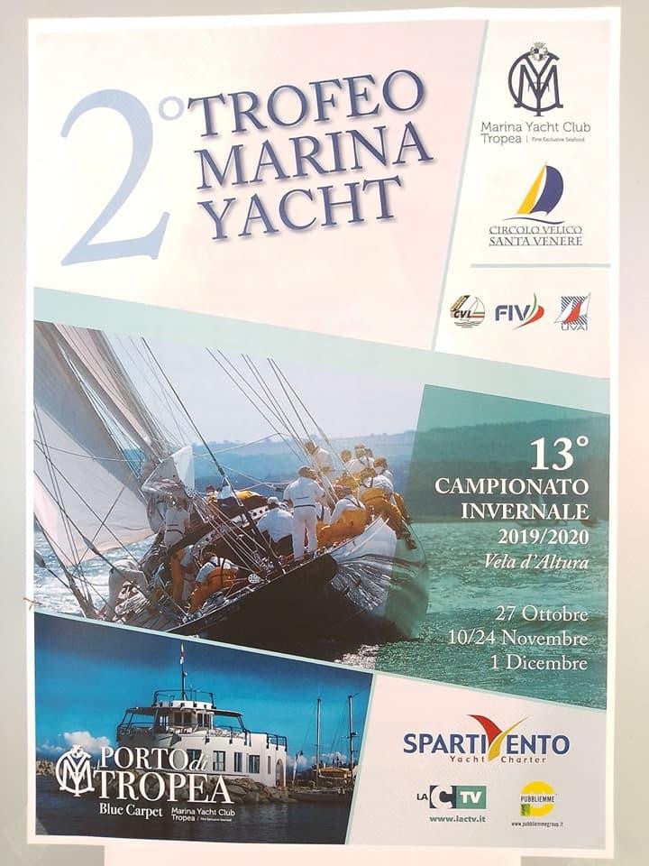 2° Trofeo Marina Yacht 2019 2020 a Tropea locandina