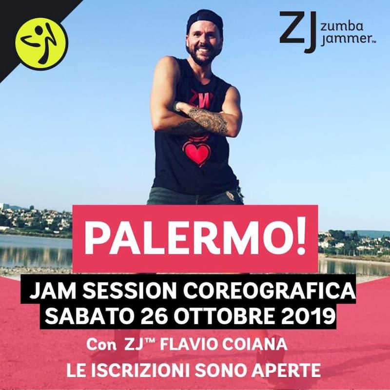 Choreo Zin Jam Session Palermo 26 ottobre 2019 a Palermo locandina
