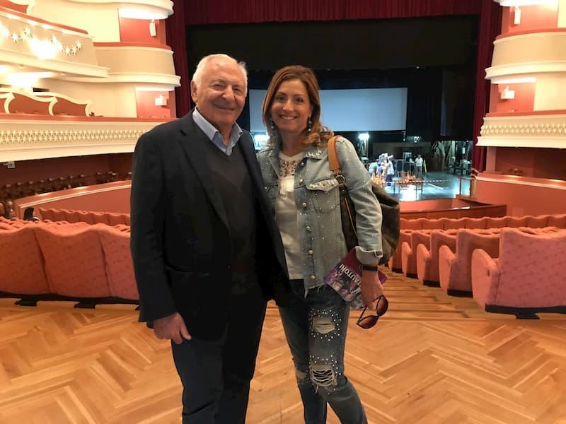 Mogol e Antonietta Santacroce al Festival d'Autunno 2019
