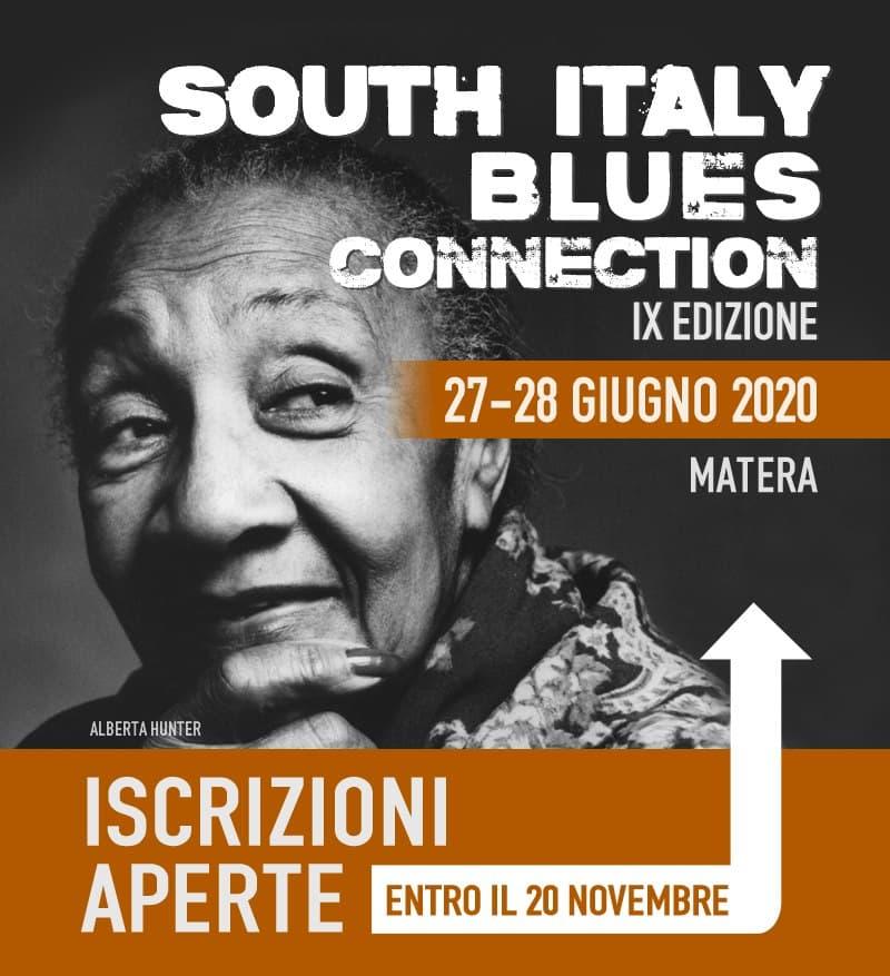 South Italy Blues Connection IX edizione 27 e 28 Giugno 2020 a Matera locandina