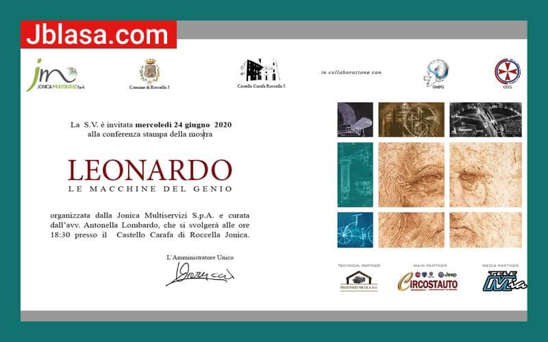 Al Castello Roccella Jonica mostra Leonardo – Le macchine del Genio