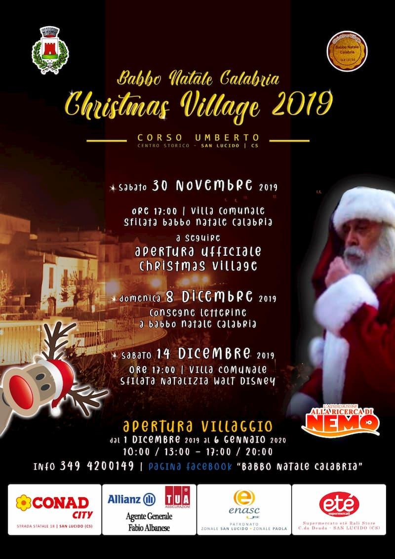 Christmas Village 2019 San Lucido