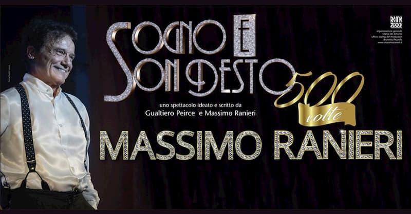 Massimo Ranieri il 19 Aprile 2020 a Barcellona Pozzo di Gotto locandina
