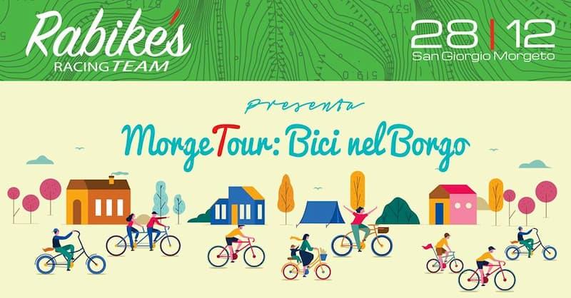 MorgeTour Bici nel Borgo 28 Dicembre 2019 a San Giorgio Morgeto locandina