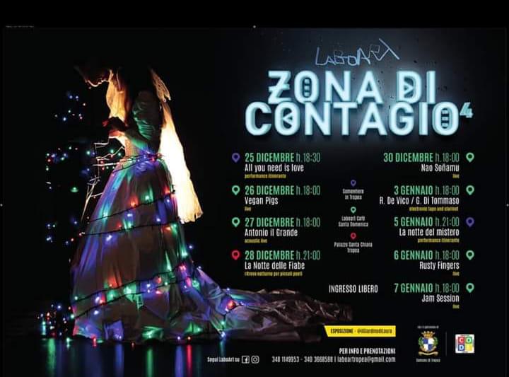 Zona di Contagio 2019 2020 Laboart locandina