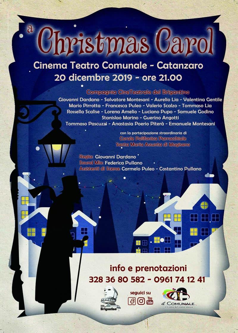 A Christmas Carol 20 dicembre 2019 a Catanzaro