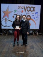 A Sanremo grazie al Festival una Voce per lo Jonio Claudia Messina