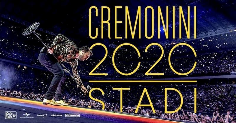 Cesare Cremonini 2020 Stadi