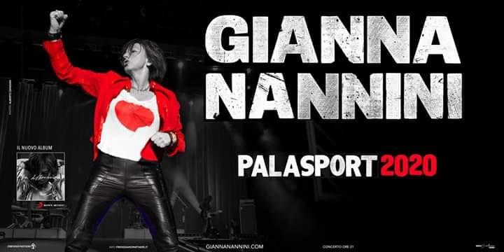 GIANNA Nannini - Palasport 2020