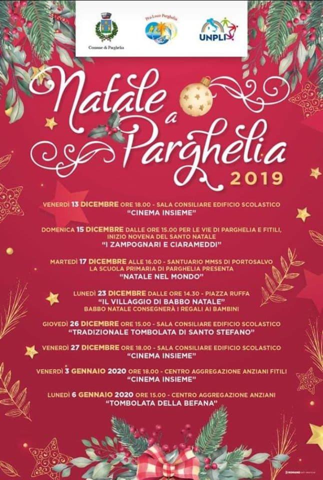 Natale a Parghelia 2019 locandina