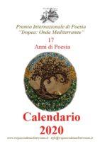 Tropea Onde Mediterranee Presentazione Calendario 2020 17 anni di Poesia copertina
