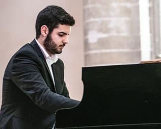Eugenio Aiello, pianoforte