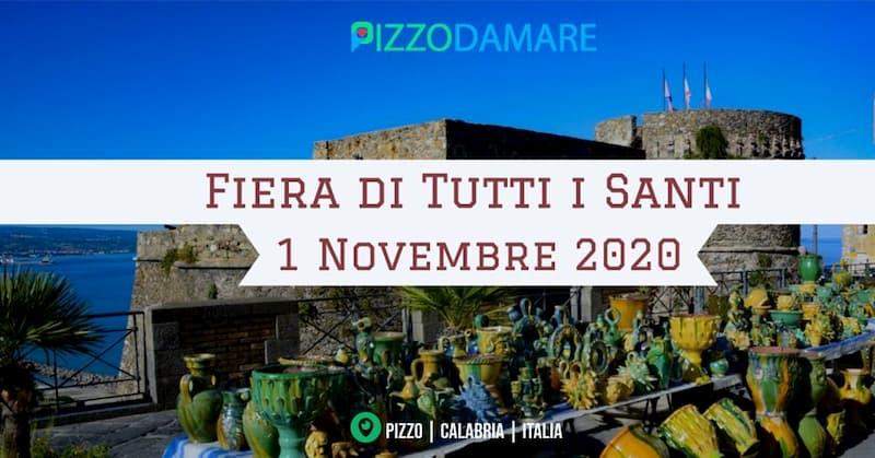 Fiera di Tutti i Santi Pizzo Calabro 1 Novembre 2020 locandina