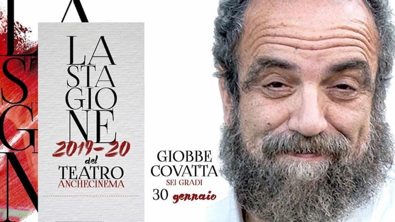 Giobbe Covatta Sei gradi 30 Gennaio 2020 a Bari locandina