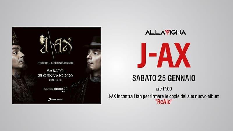 J-AX - Firmacopie 25 Gennaio 2020 a Pontecagnano Faiano locandina