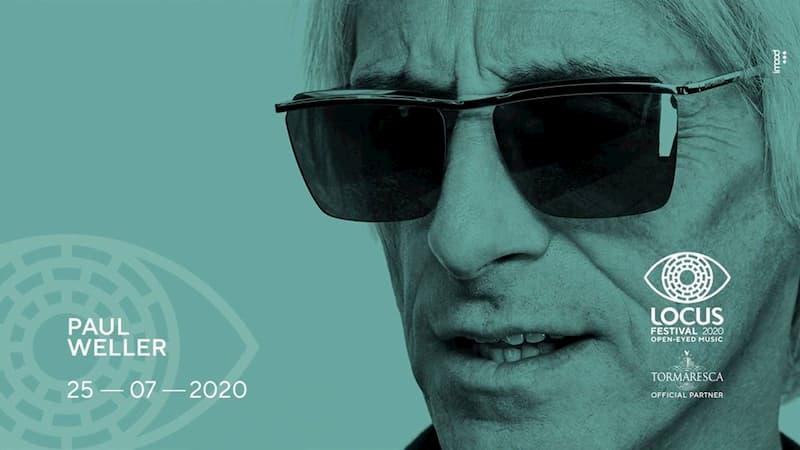 Paul Weller live - XVI edizione Locus Festival 25 luglio 2020 a Locorotondo locandina