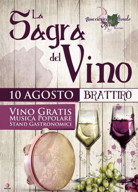 Sagra del Vino a Brattirò di Drapia