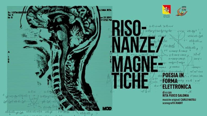 Teatro Risonanze Magnetiche 25 e 26 Gennaio 2020 a Villa San Giovanni locandina