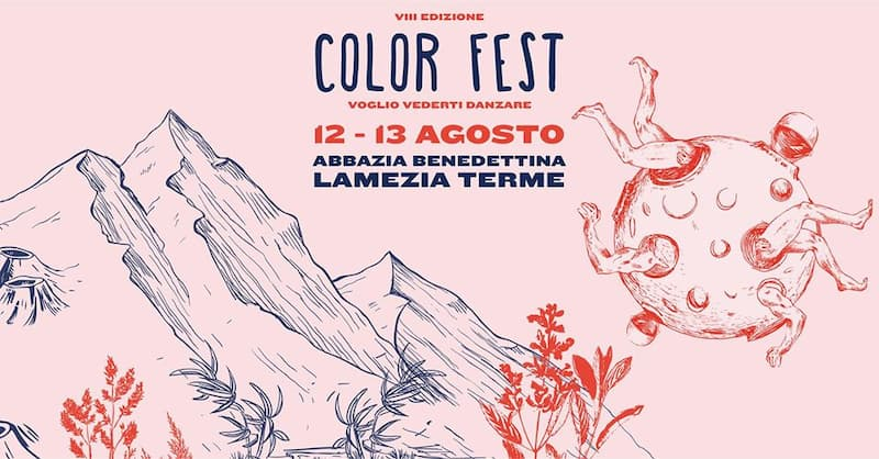 Color Fest 12 e 13 Agosto 2020 a Lamezia Terme locandina