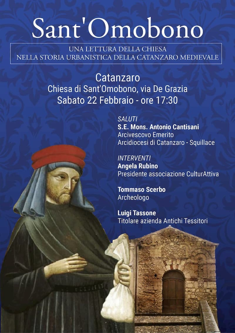 Sant'Ombono 22 Febbraio 2020 a Catanzaro locandina