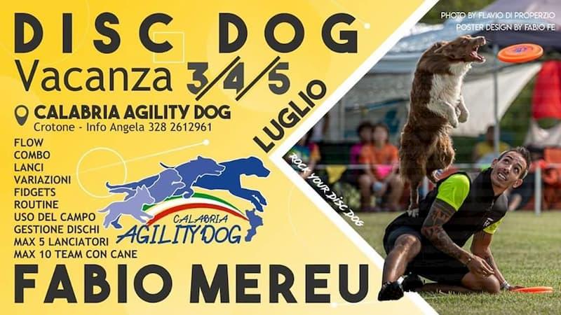Vacanza Disc Dog Crotone dal 3 al 5 Luglio 2020 a Crotone locandina