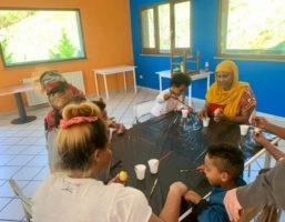 Attività centri Sprar di Civita e Cerchiara per la Pasqua a casa 2020