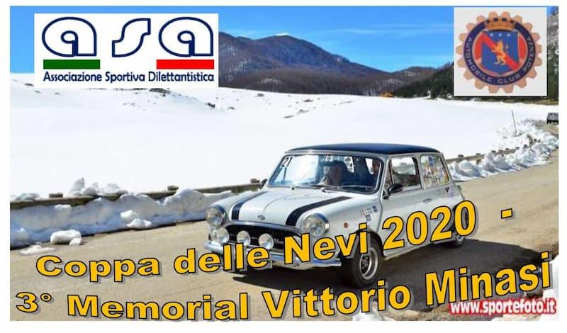 Coppa delle Nevi 2020 - 3° Memorial Vittorio Minasi