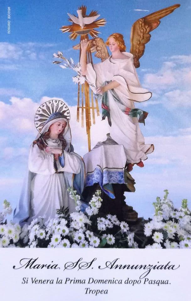 Festeggiamenti in onore di Maria SS Annunziata Tropea
