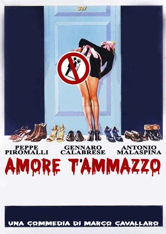 Officina dell'Arte in Amore t'ammazzo 9 maggio 2020 a Reggio Calabria locandina