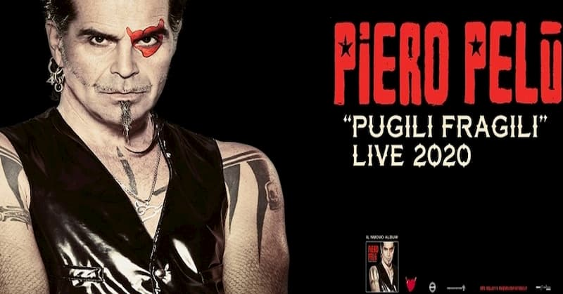 Piero Pelù pugili fragili live 2020