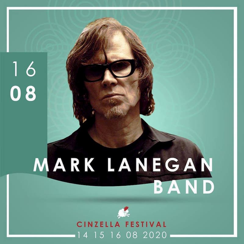 Mark Lanegan al Cinzella Festival 16 Agosto 2020 locandina