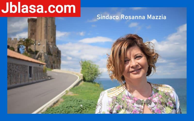 Sindaco Rosanna Mazzia - Bandiera Blu 2020 Roseto Capo Spulico