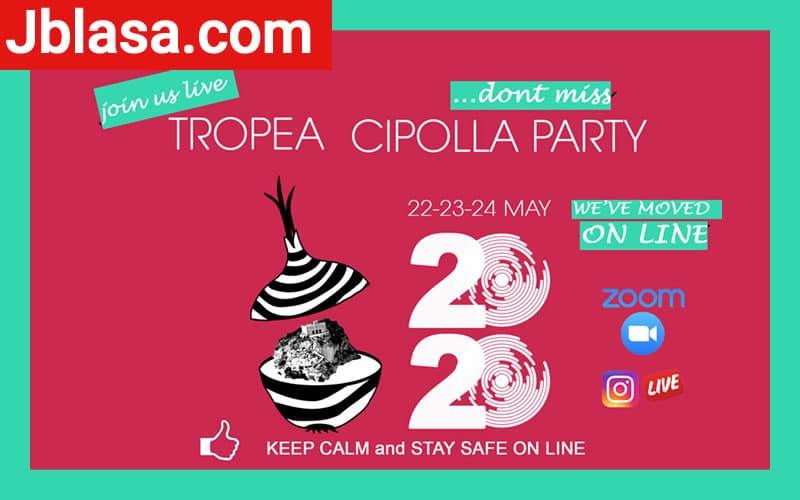 Tropea Cipolla Party 2020 on line – 2° edizione