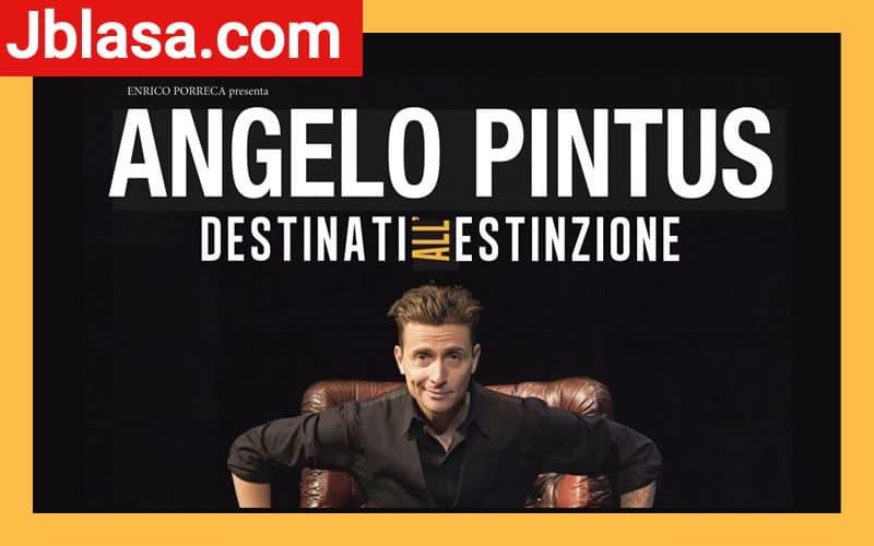 Angelo Pintus in Destinati all'estinzione